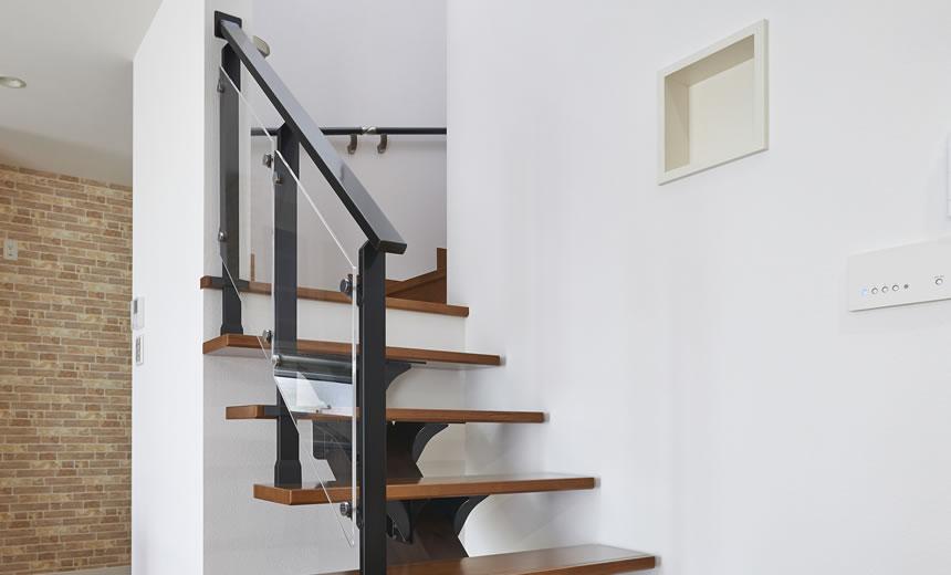 オープン階段手摺システムのイメージ画像